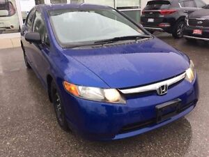2007 Honda Civic DX-NO ACCIDENT - SAFETY & E-TESTED
