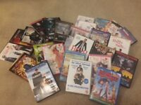 Collection of 25 DVDs for £5