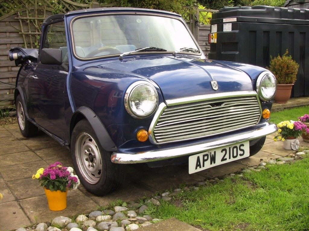 Classic Mini 1000 Convertible 1978 £4000 spent since 2013. Dry stored for 20 years prior to that!