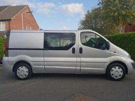 *NO VAT* - Vauxhall Vivaro 2.0CDTI ( 115ps Sportive 2900 LWB - 6 SEAT CREW CAB