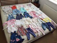 Baby Girls Clothes - 6-9 months - Clothes bundle