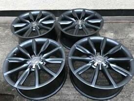 "18"" genuine Sufi alloy wheels 5x112 mint"