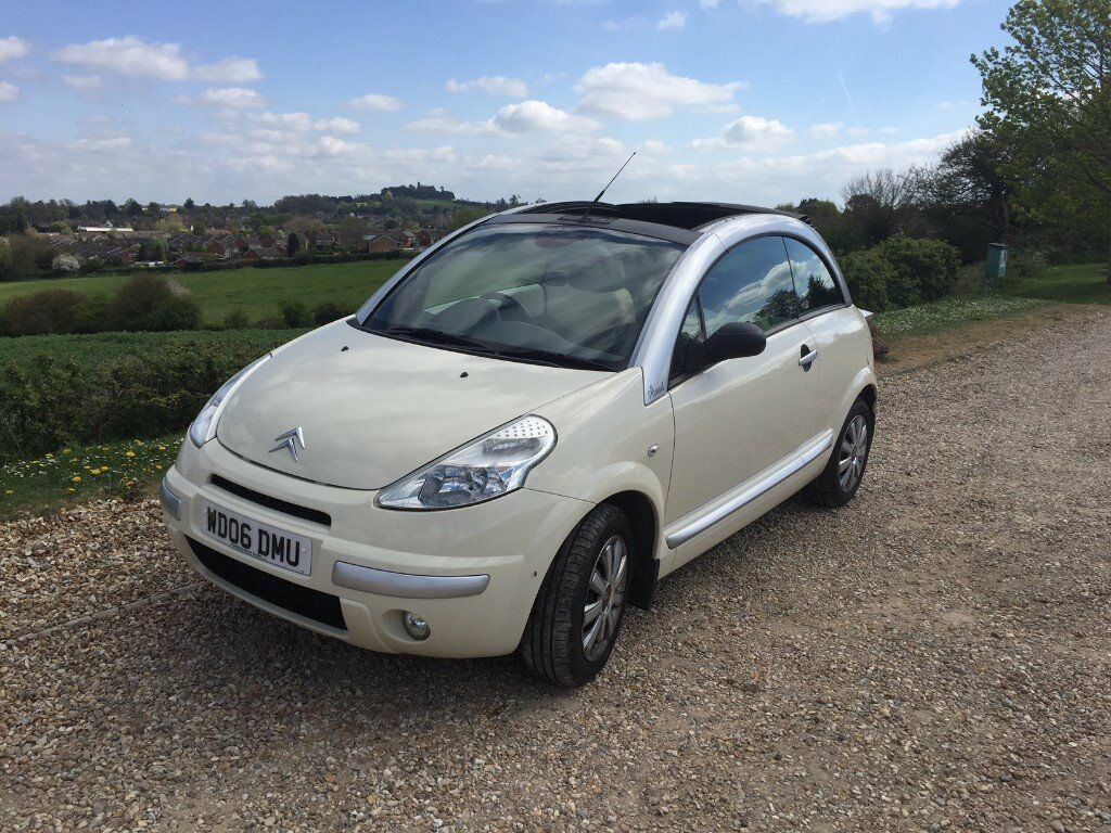 citroen c3 pluriel 1 4 i latte 2dr low mileage in swindon wiltshire gumtree. Black Bedroom Furniture Sets. Home Design Ideas
