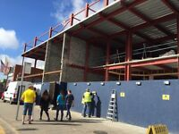 Tiling gang wanted for new 50,000sqft leisure complex