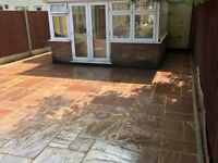 Block paving, slab & indian stone laying, driveway & patio cleaning sealing