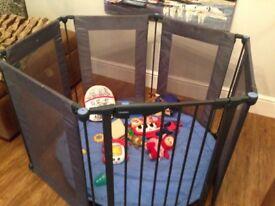 Lindham secure baby playpen.