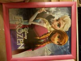 Large Pink frozen picture