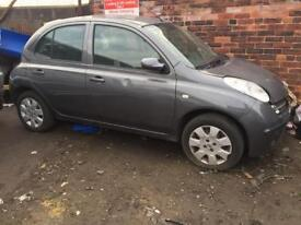 Micra 1.2 petrol automatic color grey breaking for parts