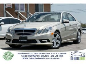 2010 Mercedes-Benz E-Class 350 4-MATIC NAV.GPS REAR CAMERA SPORT