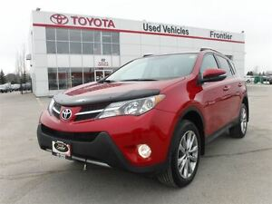 2013 Toyota RAV4 Limited TOYOTA CERTFIED PRE OWNED