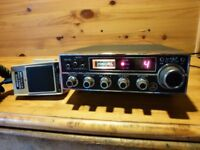 CB RADIO -- ST-9 PDX.WITH MIC / POWER LEAD.LSB.USB.AM