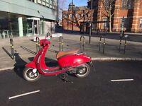 Red Lexmoto Vienna 125cc