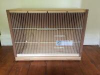 Bird show cage