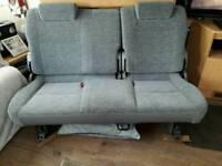 Camper can seat
