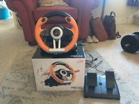 PS3 and PC steering wheel- Speedlink drift oz