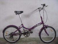 Folding bike 2927A