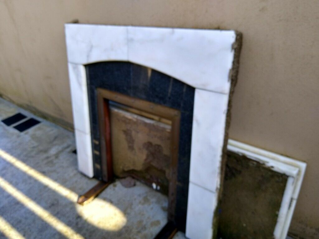 Marble Fireplace Free To Anyone Who Can Collect In