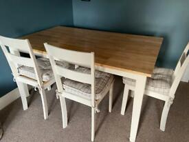 Solid Wood Dining table seats 6