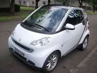 Smart for Two. 1.0. MHD. Passion. 71 bhp. 2 Door Coupe. 2009.