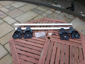 Aero aluminium roof bars & fittings