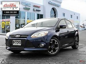 2012 Ford Focus SE *STICK SHIFT HATCHBACK*