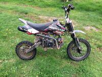 125cc Pitbike stomp/demon x style frame