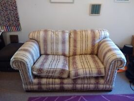 Sofa - 2 seater, dated but clean & comfortable
