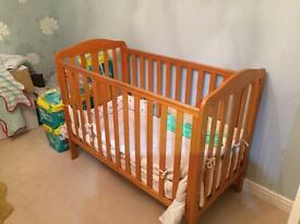 Cot Mothercare Takeley Cot