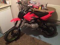 Pit bike super stomp 140cc