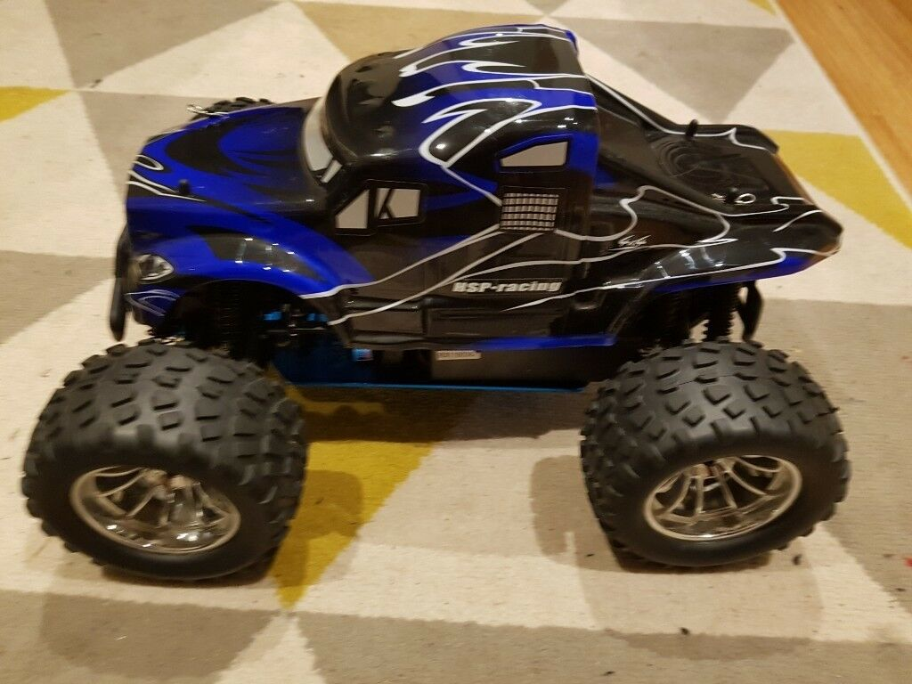 HSP 1:10 Nitro RC Car / Monster Truck (includes box, fuel & toolkit) | in  Trafford, Manchester | Gumtree