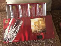 Chantilly Cristal tumblers