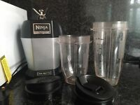 Ninja Bullet Smoothie Blender Mixer- Excellent Condition