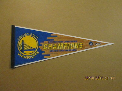 NBA GS Warriors 2015 Western Conf.Champions Pennant #2