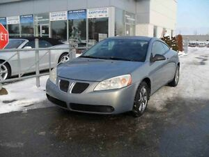 2007 Pontiac G6 GT SIEGES CHAUFFANTS/DEMAREURE A DISTANCE