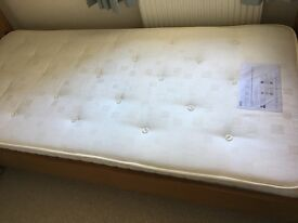 Single Bed. 3' purchased from Marks & Spencers.