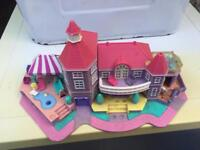 Polly Pocket pink American house