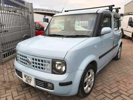 NISSAN CUBE FUNKY LOOKING CAR AUTOMATIC VERY RARE AND SOUGHT AFTER !