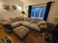 2 year old grey sofa