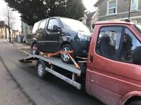 Car recovery and vehicle transport