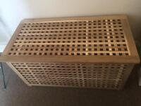 Ikea blanket box - storage chest