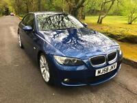 BMW 3 SERIES 325i [3.0] M Sport 2dr (blue) 2008