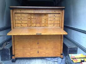 Wooden writing chest