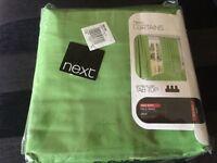 Next green curtains