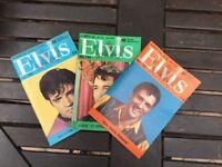 Always 100% Elvis magazines. 102, 104 and 105