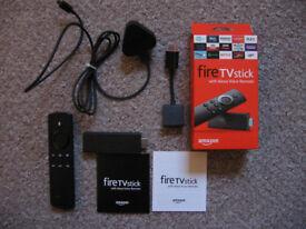 Amazon Fire TV Stick (Gen 2) with Alexa Voice Remote
