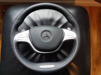 MERCEDES S63 / S CLASS PARTS W222 - REAR LIGHTS STEERING WHEEL WITH AIRBAG FRONT & REAR BUMPER