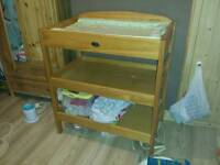 Baby weavers solid changing table