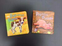 2 Brandnew Farm Board Books