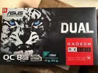 Asus Radeon RX 580 Dual 8192MB GDDR5 GPU Card