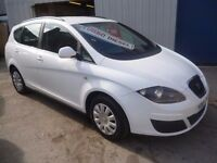 Seat ALTEA 1.6 TDI XL S-CR,5 door hatchback,1 previous owner,clean tidy car,runs and drives well,